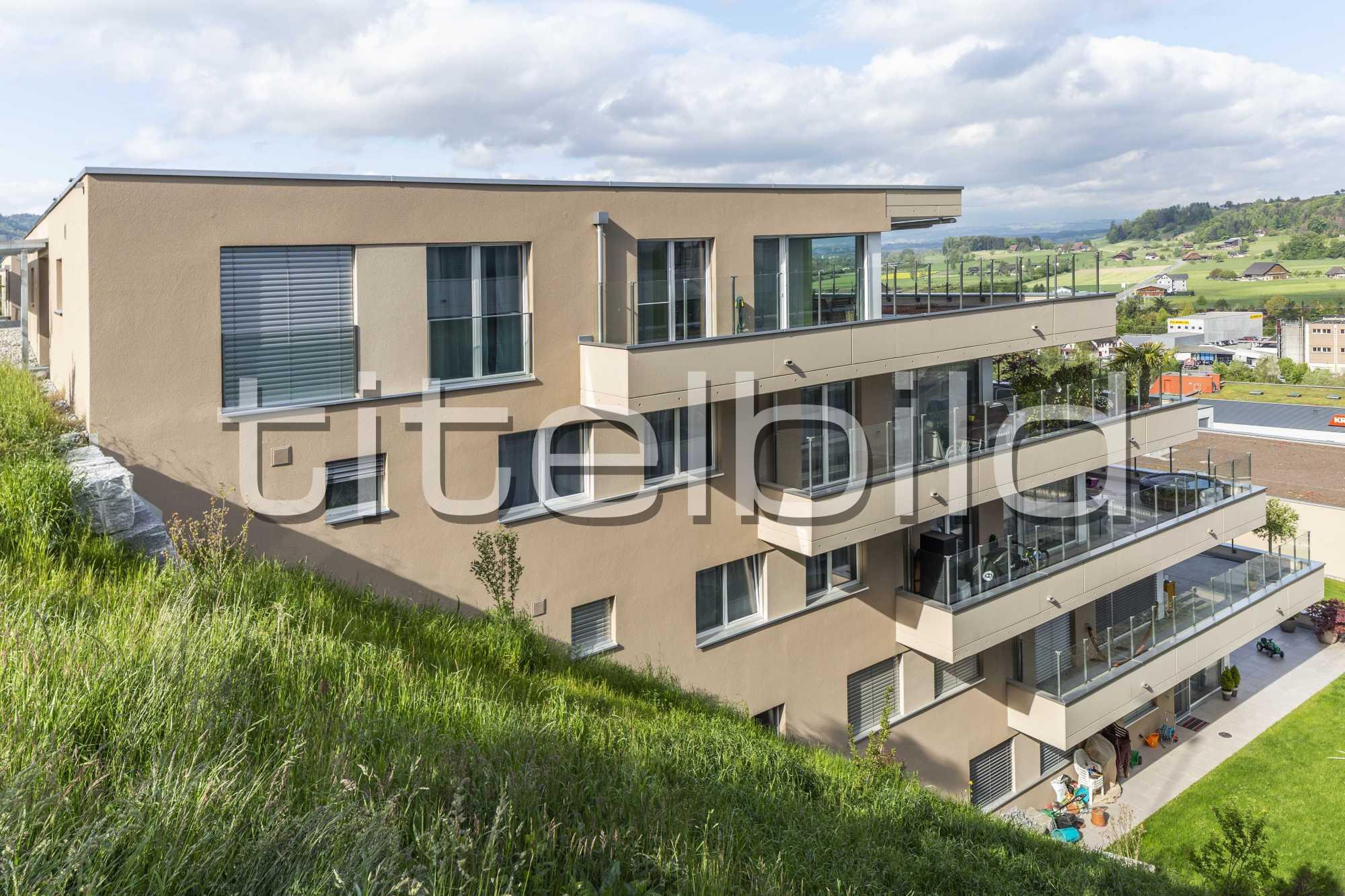 Projektbild-Nr. 1: Wohnüberbauung Sirius 2. Etappe