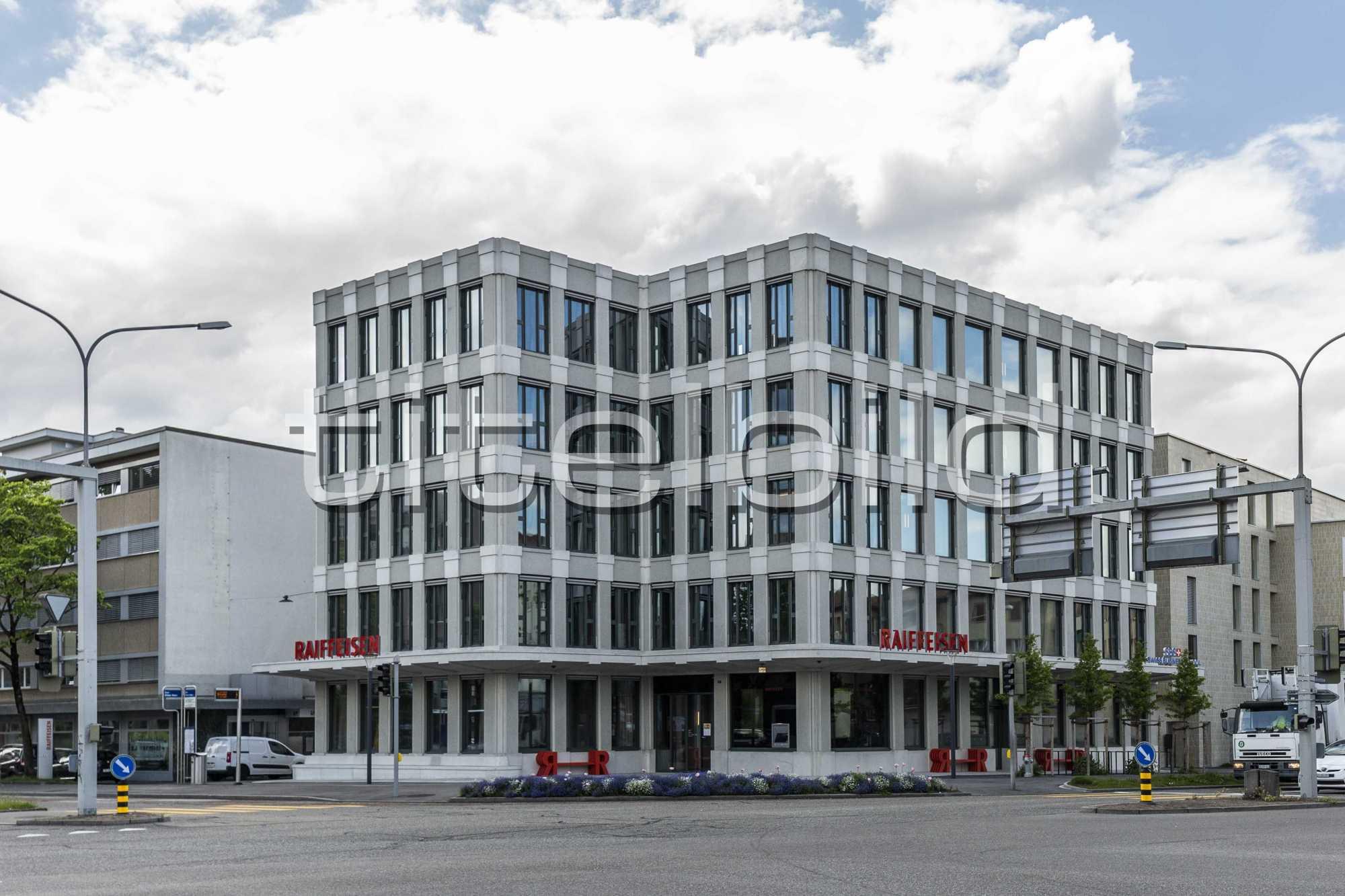 Projektbild-Nr. 1: Neubau Hauptsitz der Raiffeisenbank