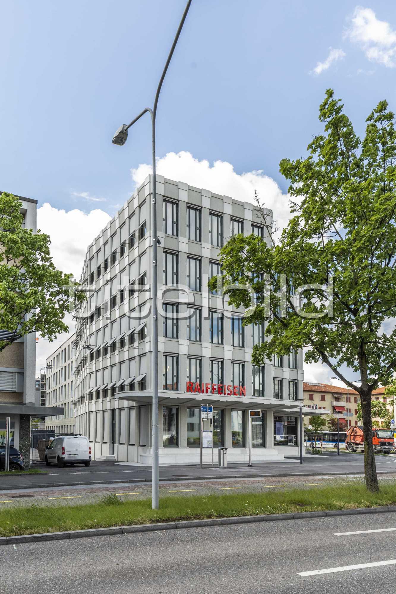 Projektbild-Nr. 2: Neubau Hauptsitz der Raiffeisenbank