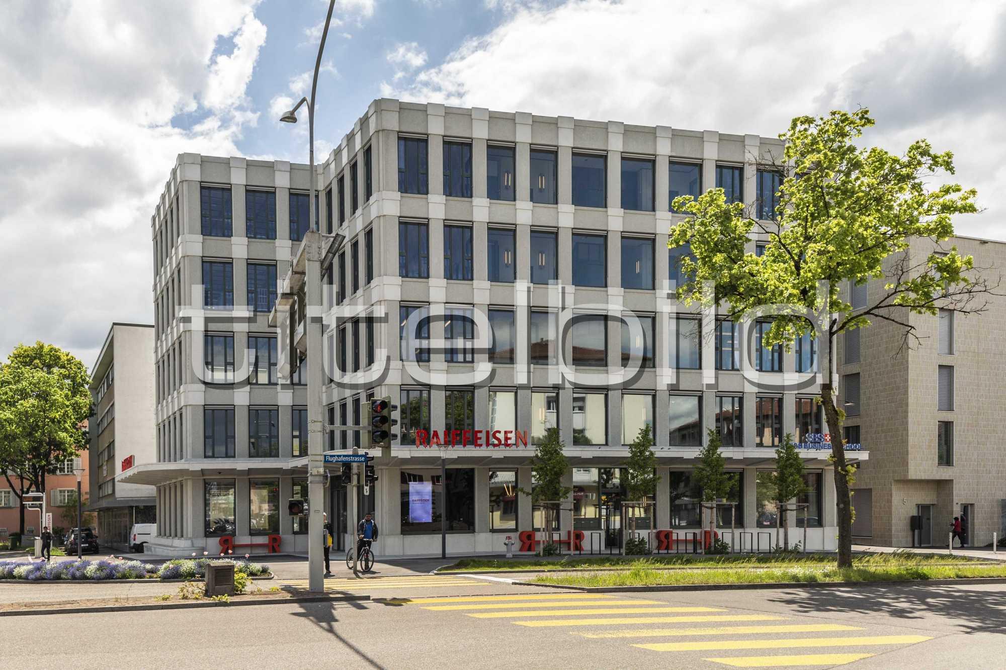 Projektbild-Nr. 6: Neubau Hauptsitz der Raiffeisenbank
