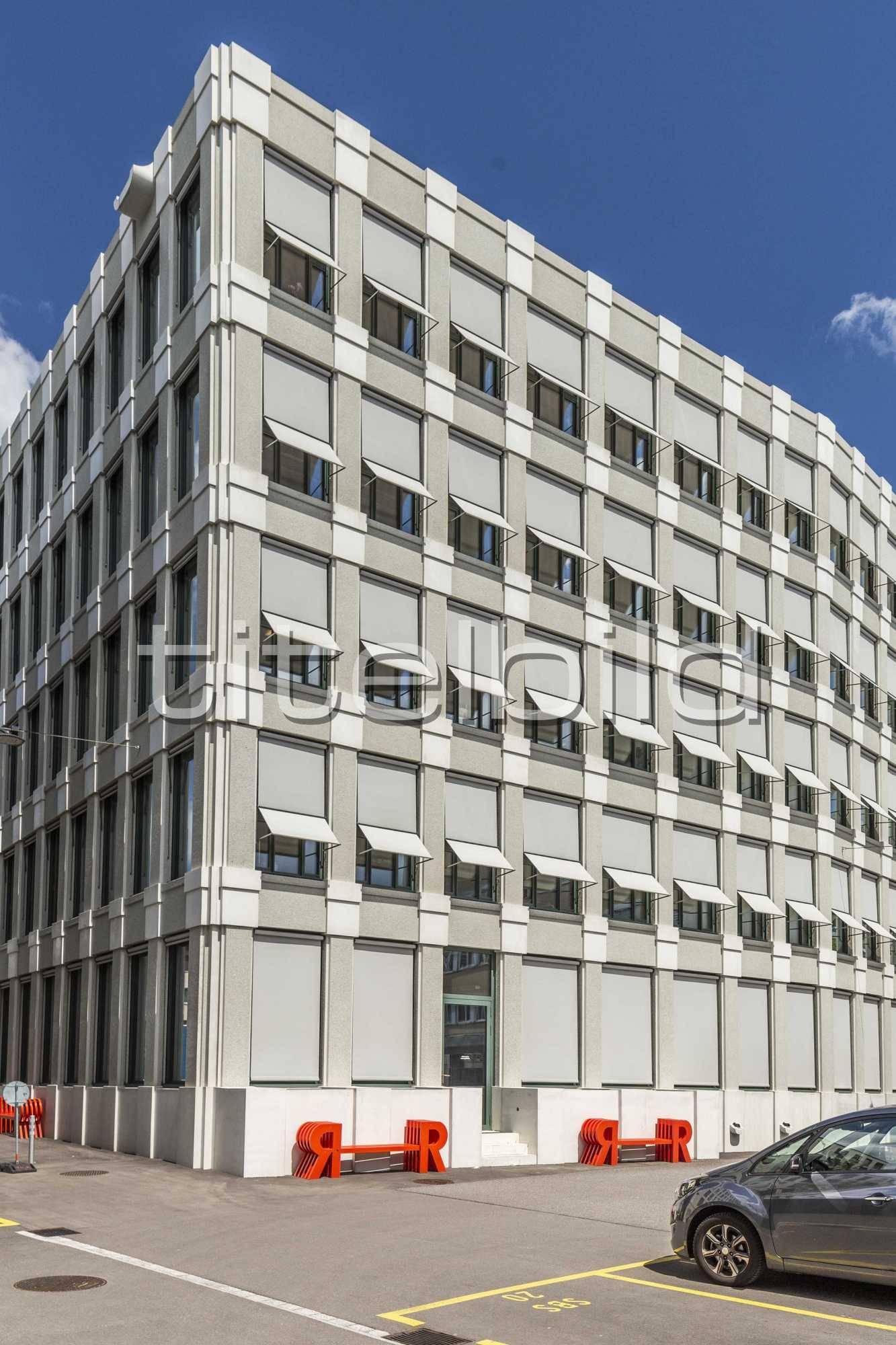Projektbild-Nr. 8: Neubau Hauptsitz der Raiffeisenbank
