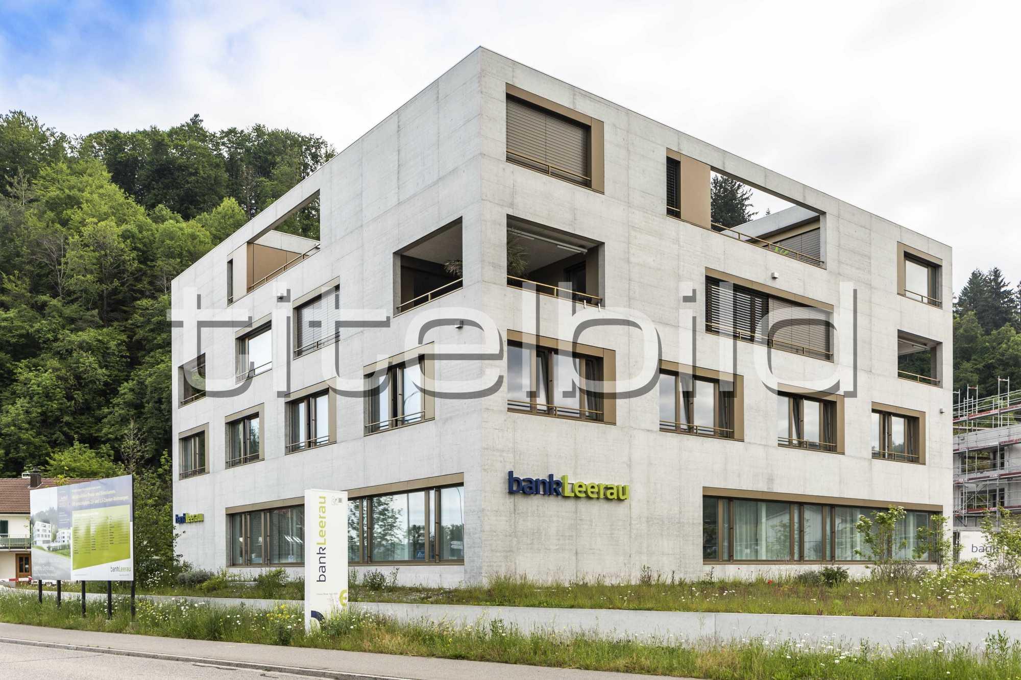 Projektbild-Nr. 0: Bank Leerau, Zentrum-Haus A, Kirchleerau