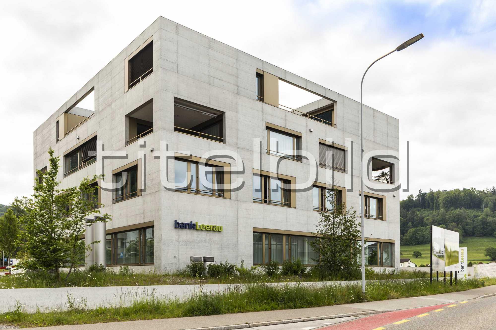 Projektbild-Nr. 1: Bank Leerau, Zentrum-Haus A, Kirchleerau