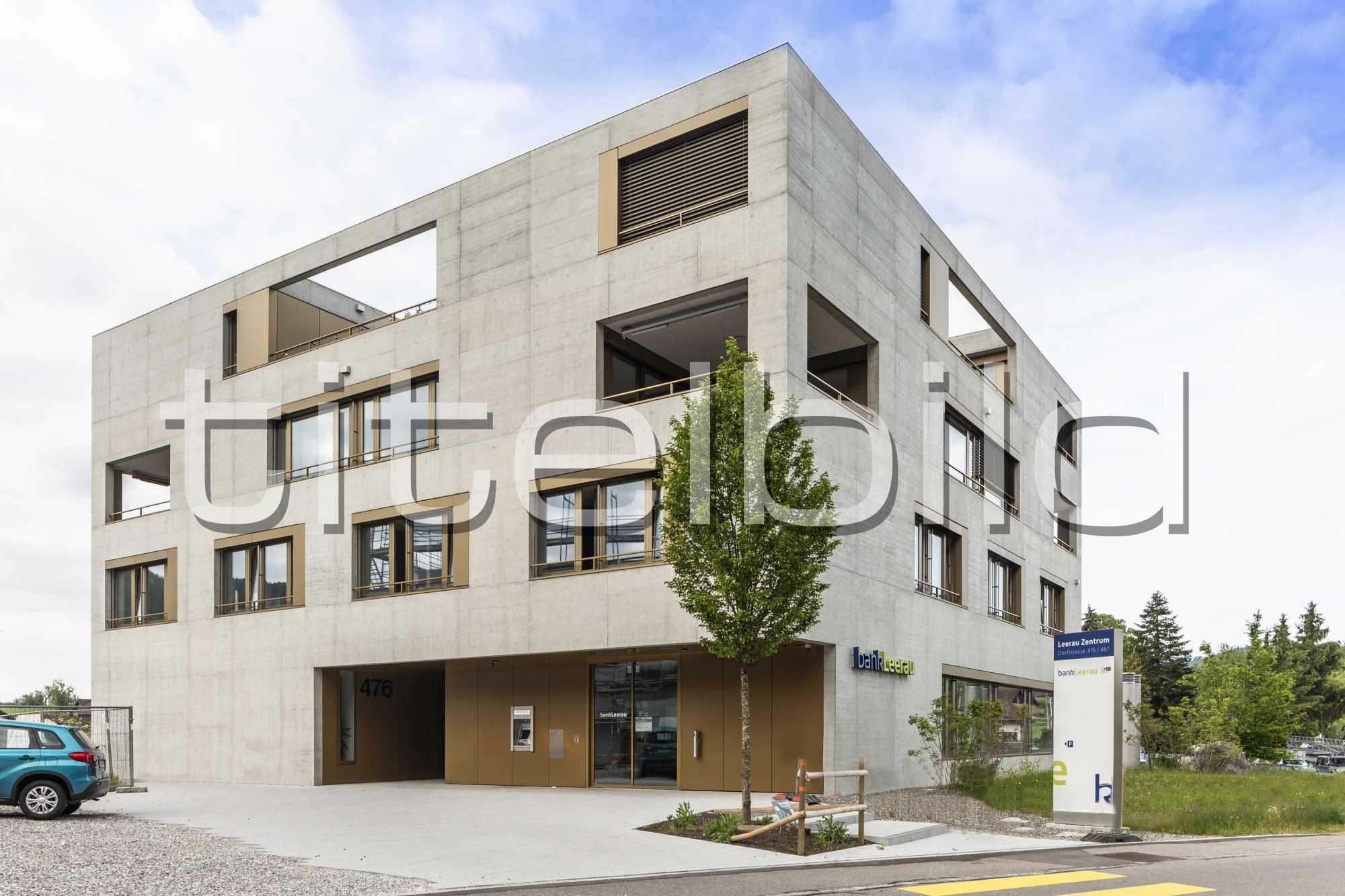 Projektbild-Nr. 2: Bank Leerau, Zentrum-Haus A, Kirchleerau