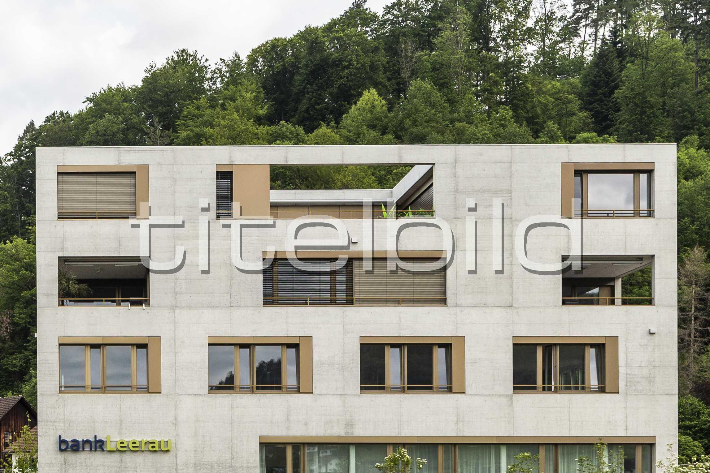 Projektbild-Nr. 4: Bank Leerau, Zentrum-Haus A, Kirchleerau