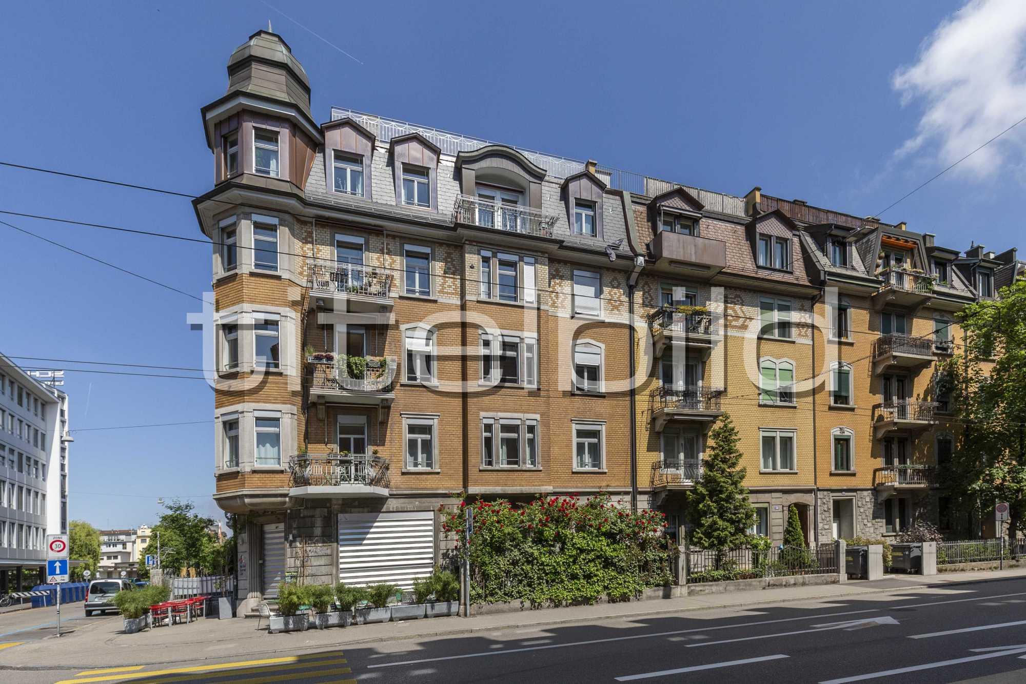 Projektbild-Nr. 1: Sanierung und Umbau Wohn- und Geschäftshaus