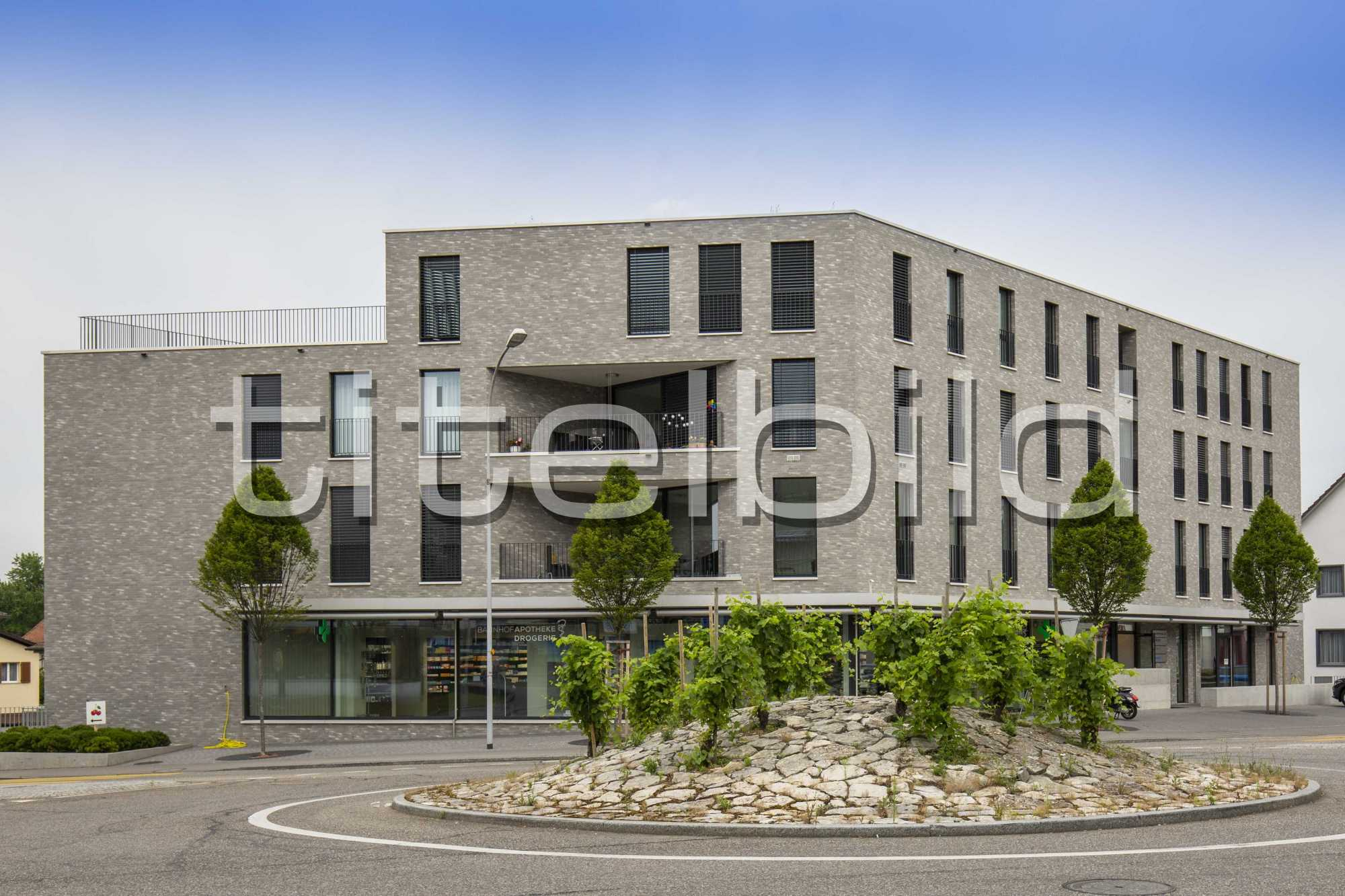 Projektbild-Nr. 2: Neubau Wohn- und Gewerbehaus