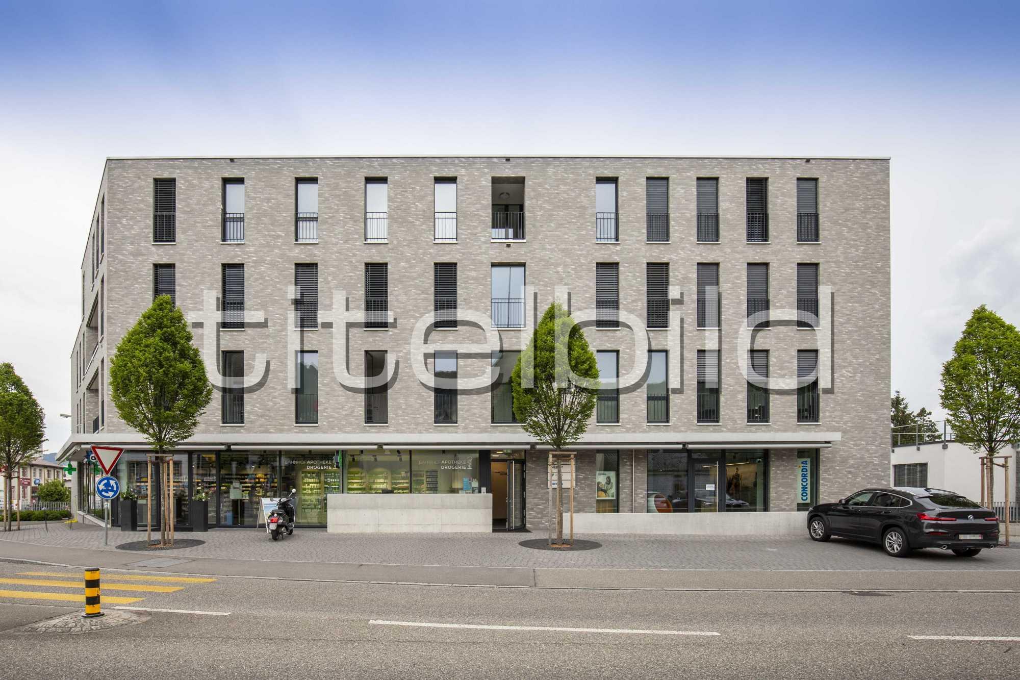 Projektbild-Nr. 4: Neubau Wohn- und Gewerbehaus