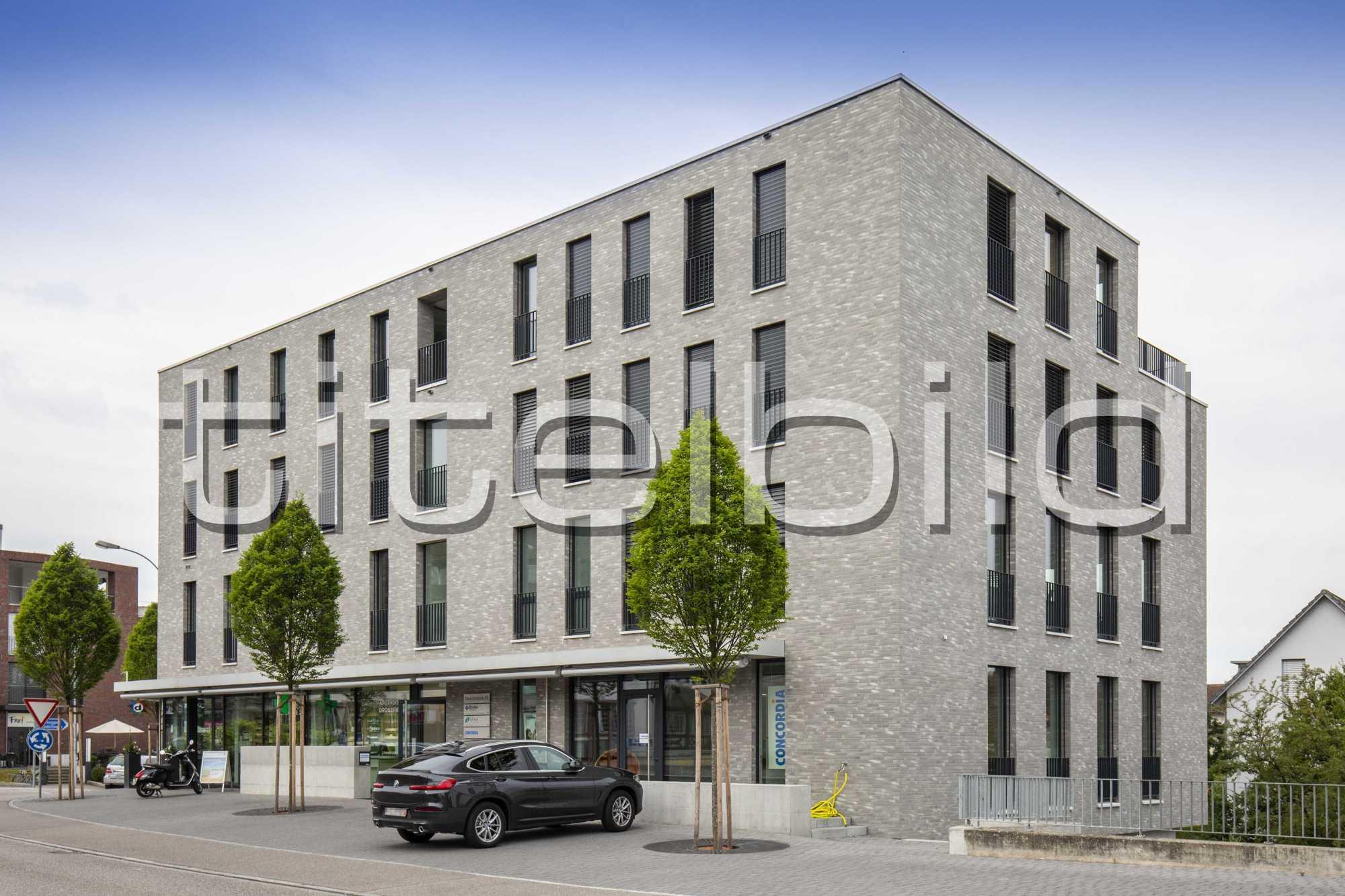 Projektbild-Nr. 5: Neubau Wohn- und Gewerbehaus