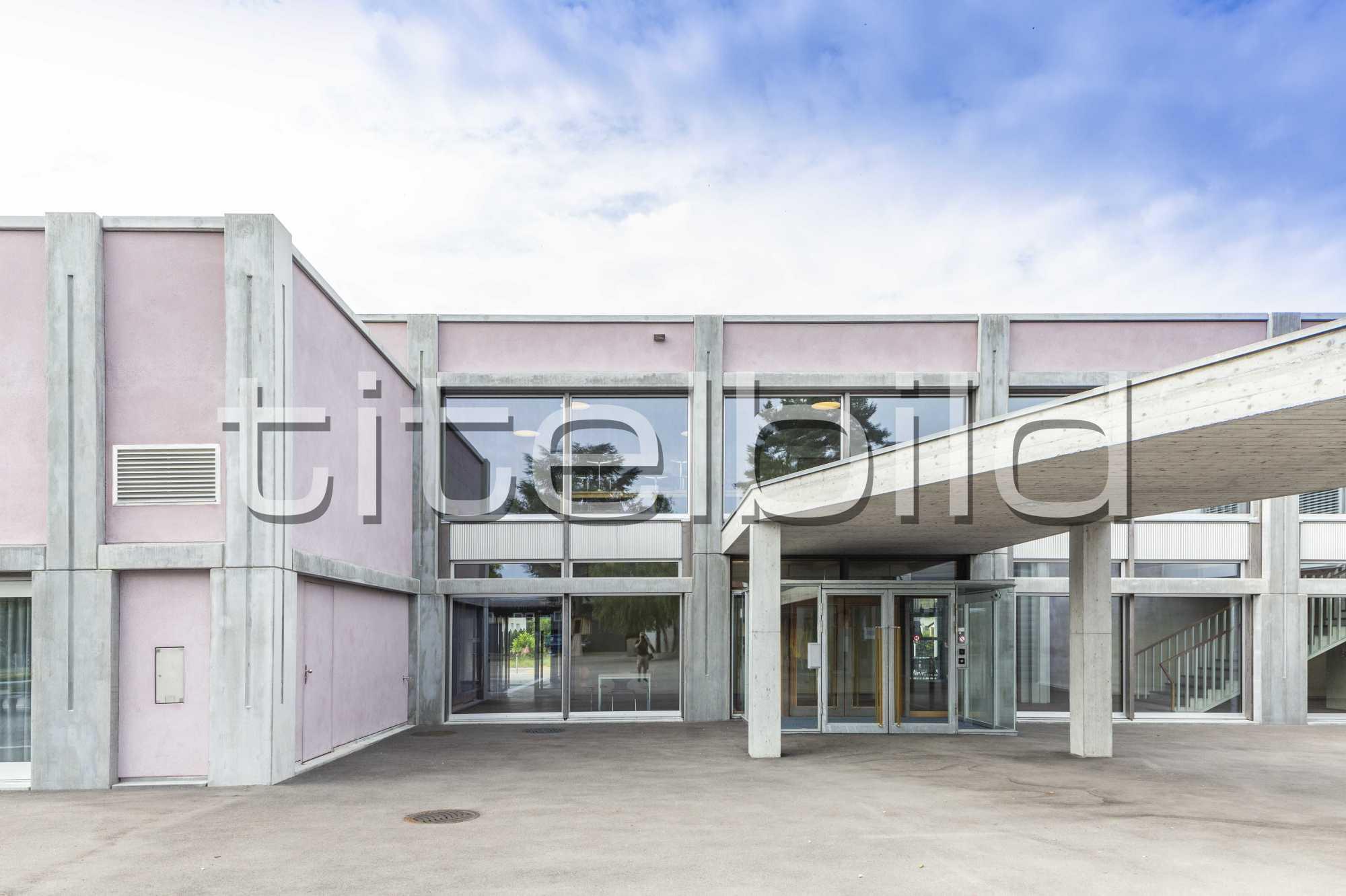 Projektbild-Nr. 1: Neubau Oberstufenschulhaus