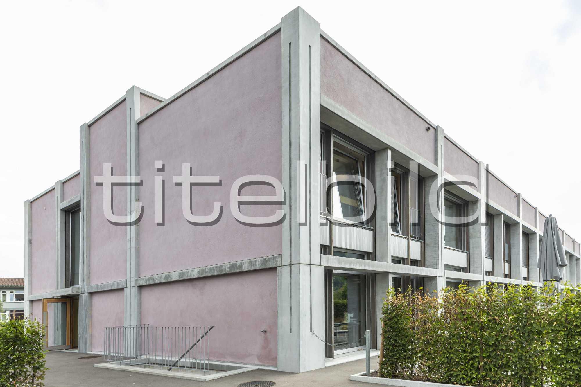 Projektbild-Nr. 4: Neubau Oberstufenschulhaus