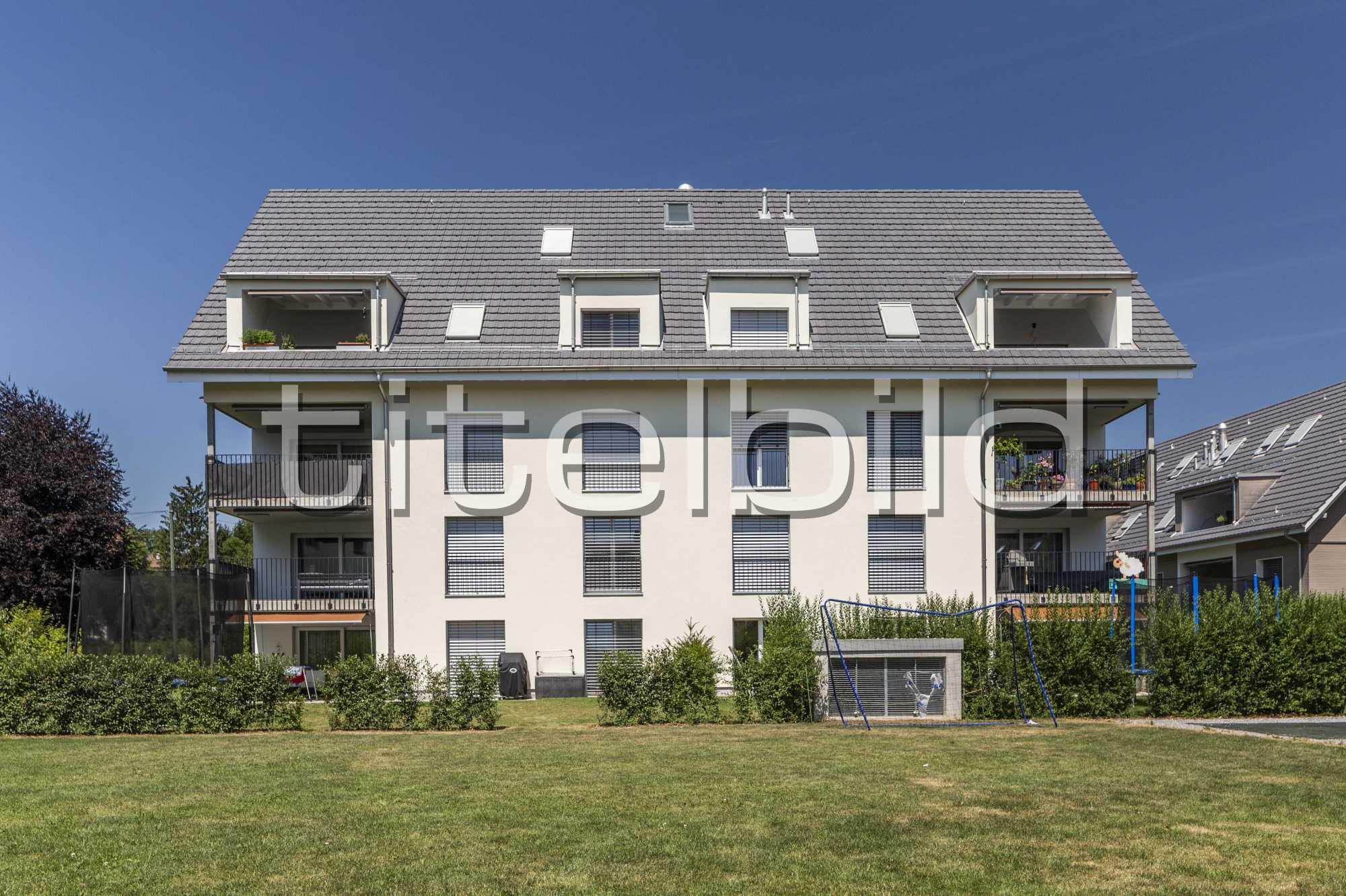 Projektbild-Nr. 1: Wohnen im Dorfzentrum Adlerweg