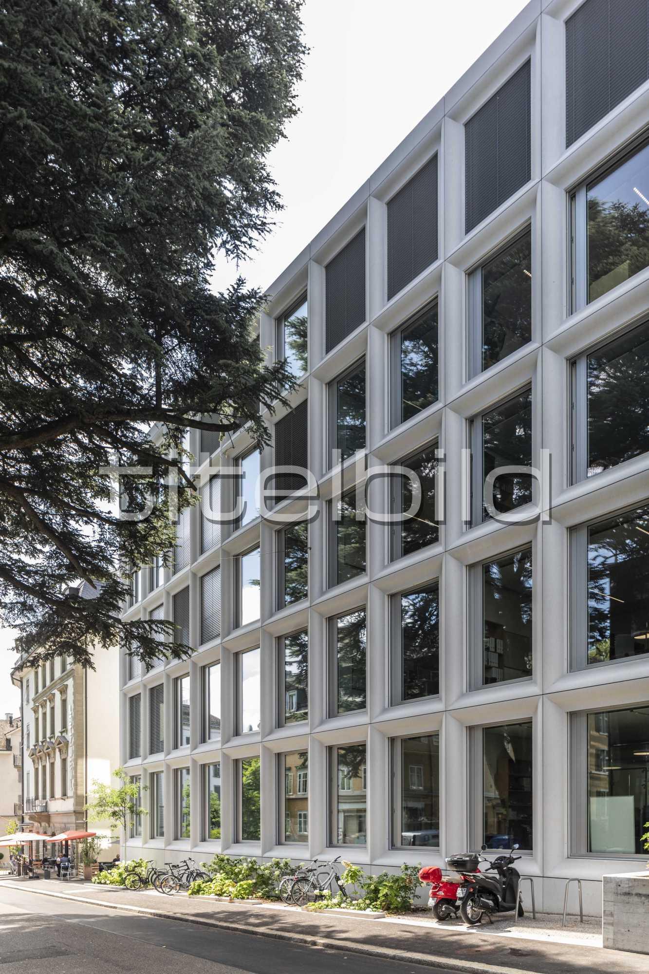Projektbild-Nr. 3: Institutsgebäude Plattenstrasse