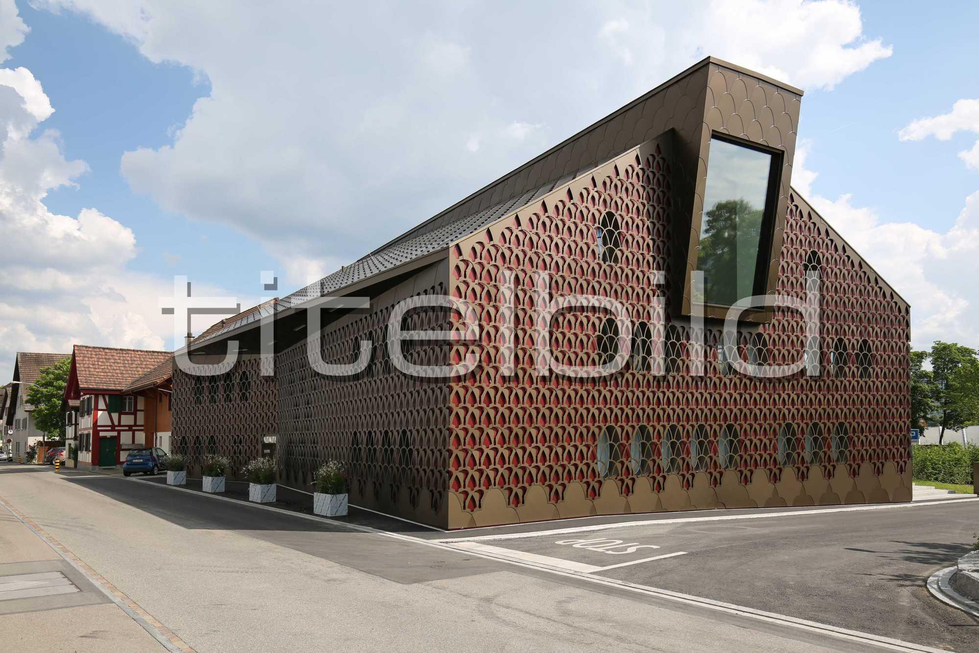 Projektbild-Nr. 0: Neubau Gemeindehaus Unterengstringen