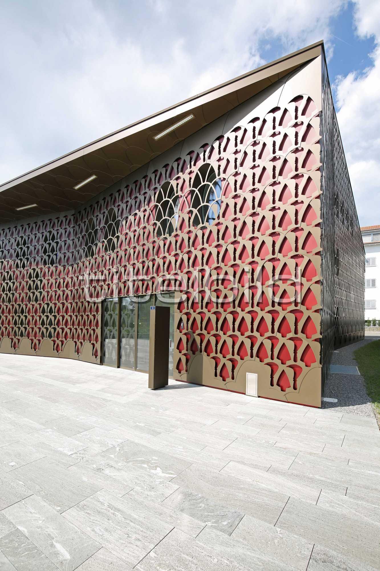 Projektbild-Nr. 1: Neubau Gemeindehaus Unterengstringen