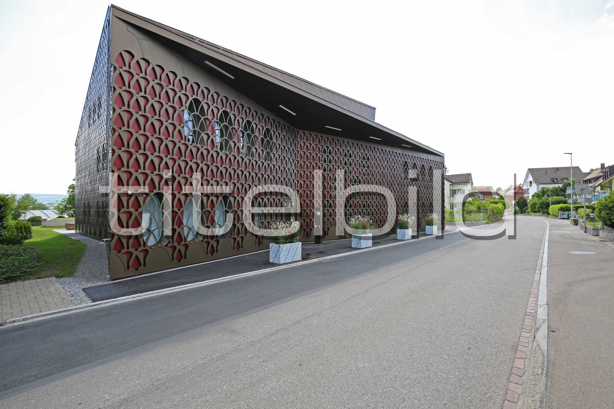 Projektbild-Nr. 2: Neubau Gemeindehaus Unterengstringen