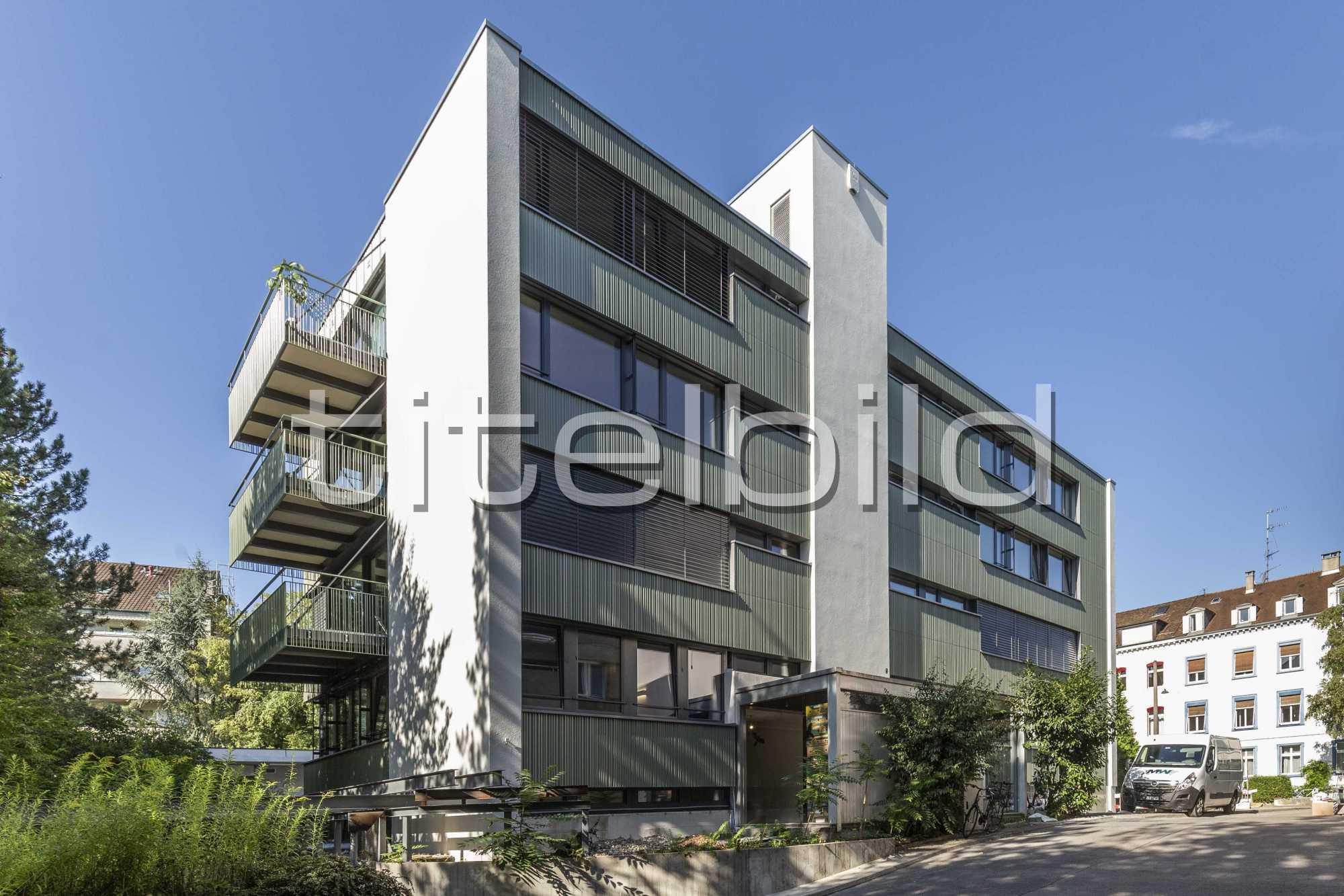 Projektbild-Nr. 0: Wohnen und Arbeiten an der Grellingerstrasse