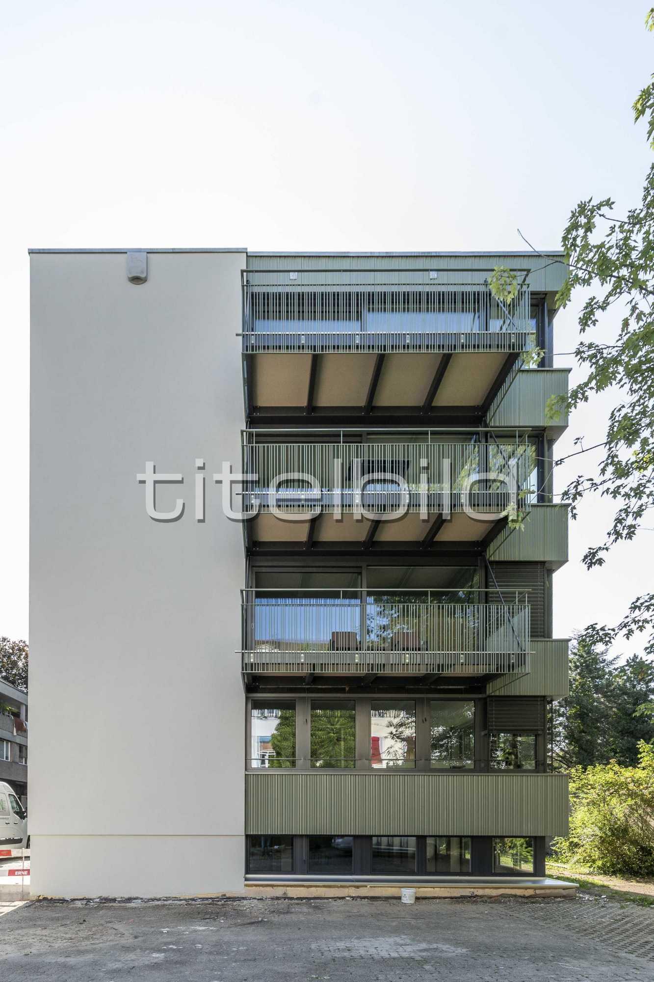 Projektbild-Nr. 1: Wohnen und Arbeiten an der Grellingerstrasse