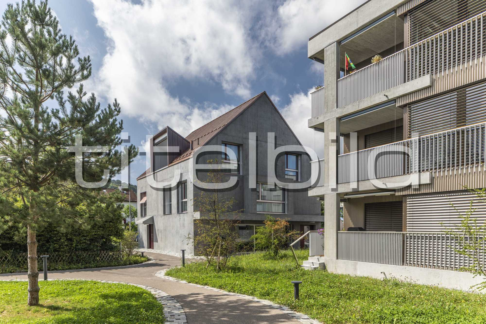 Projektbild-Nr. 1: Neubau Siedlung Riedgraben (Siedlungslokal)