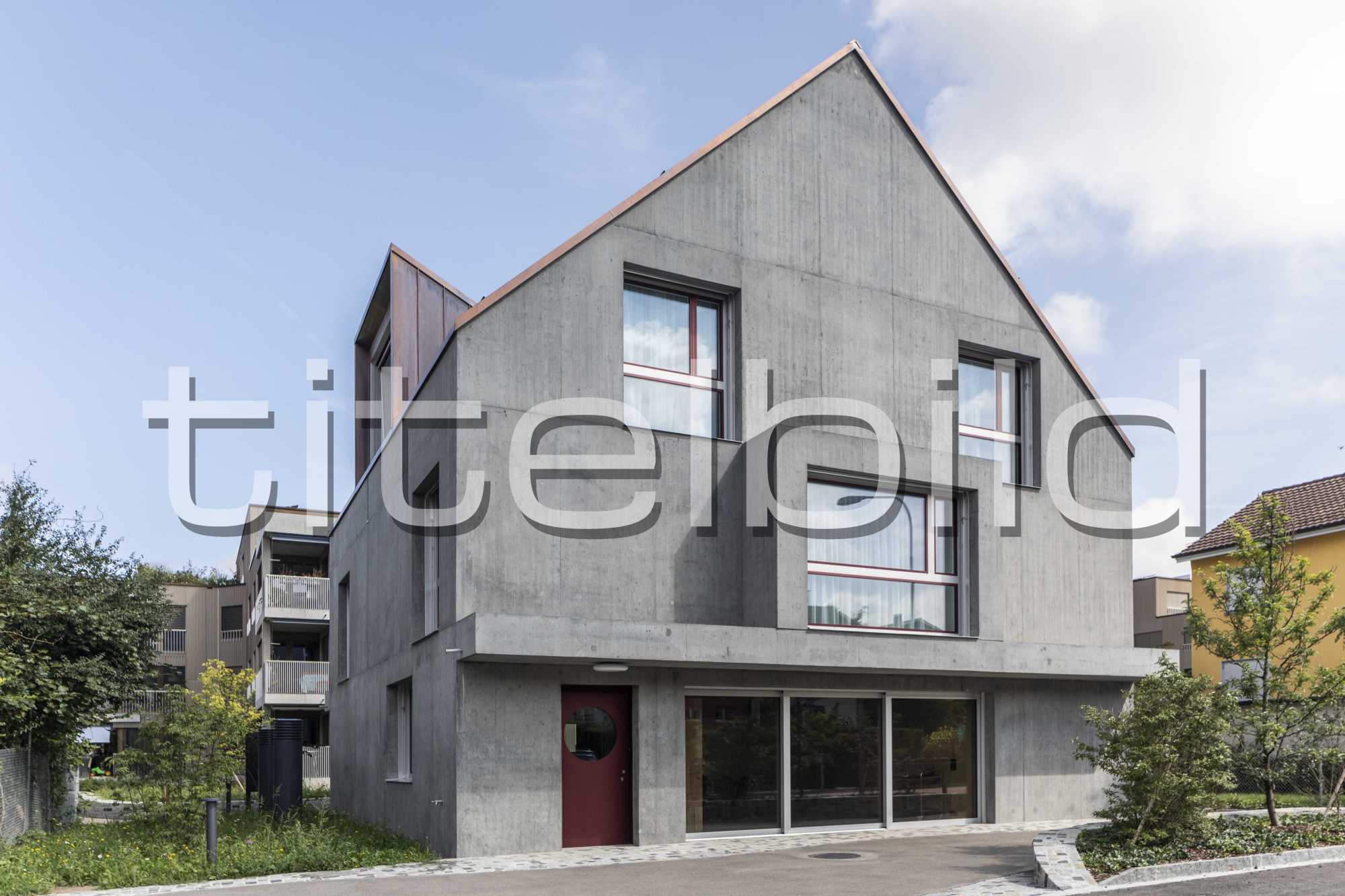 Projektbild-Nr. 2: Neubau Siedlung Riedgraben (Siedlungslokal)