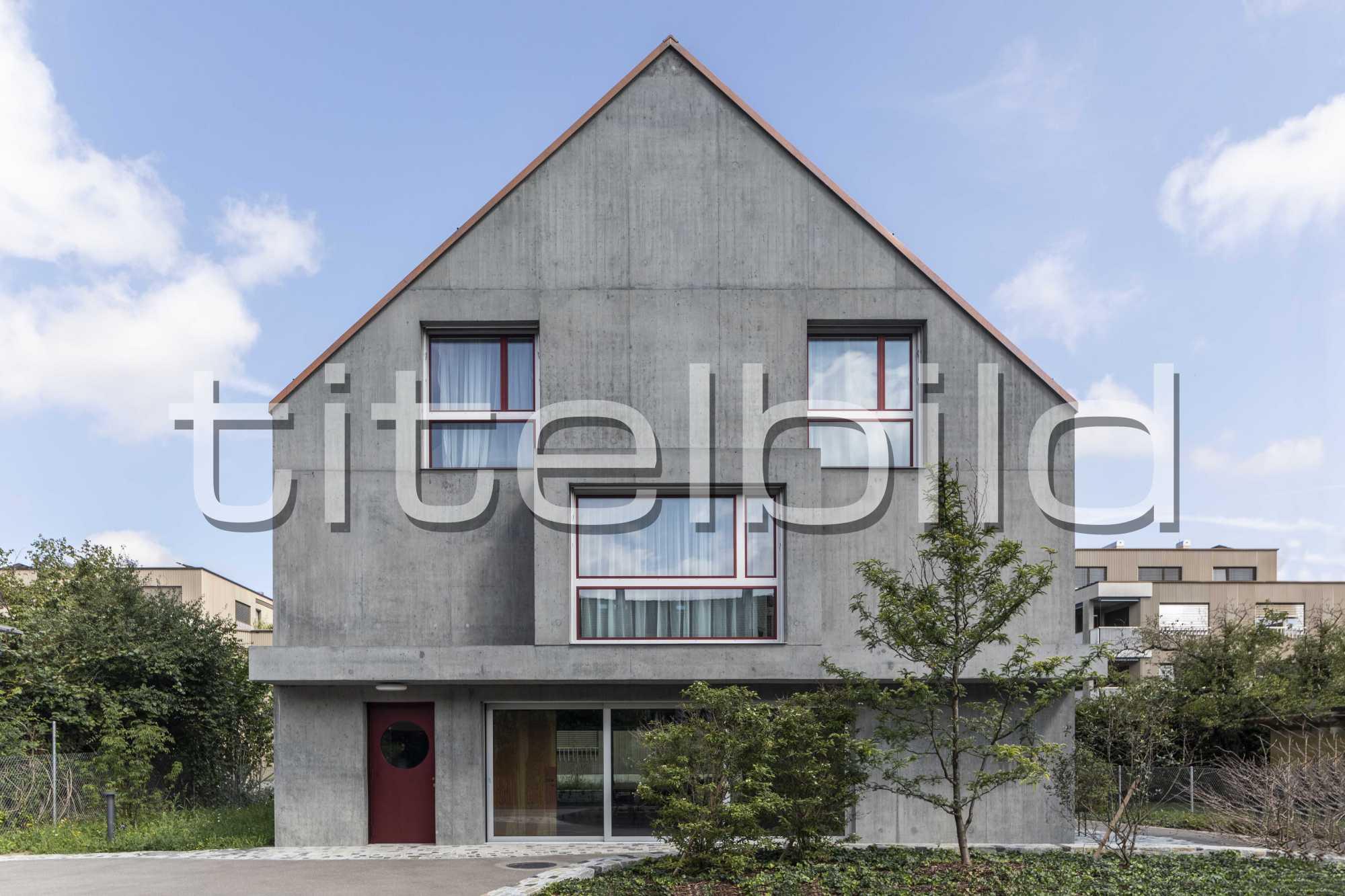Projektbild-Nr. 3: Neubau Siedlung Riedgraben (Siedlungslokal)