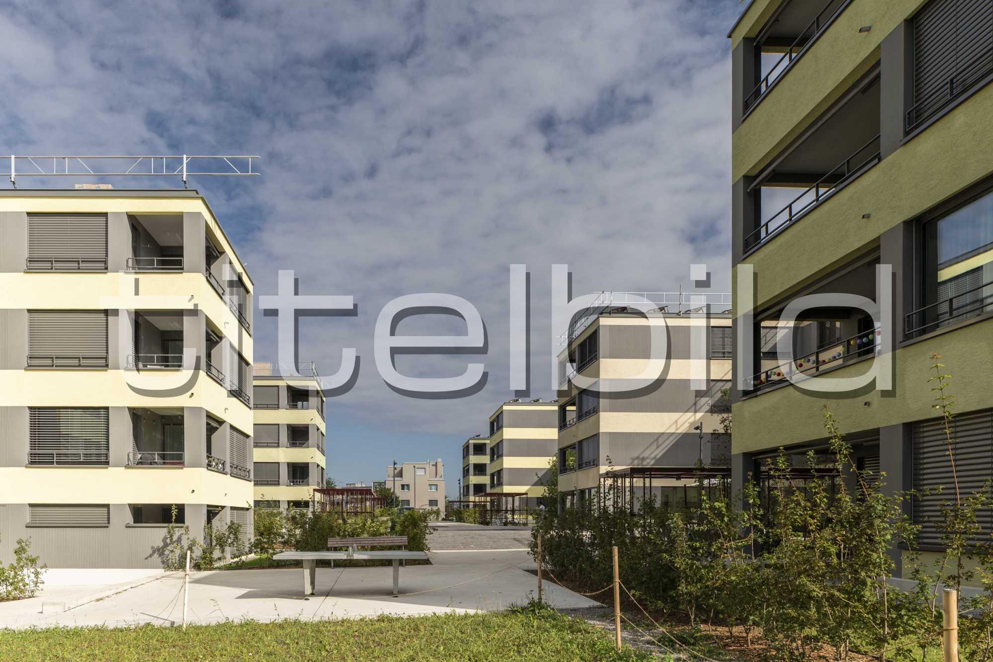 Projektbild-Nr. 0: Wohnsiedlung Pfaffenlebern , Rümlang
