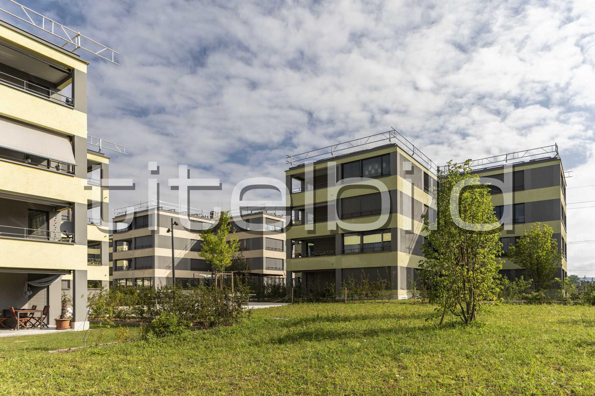 Projektbild-Nr. 1: Wohnsiedlung Pfaffenlebern , Rümlang