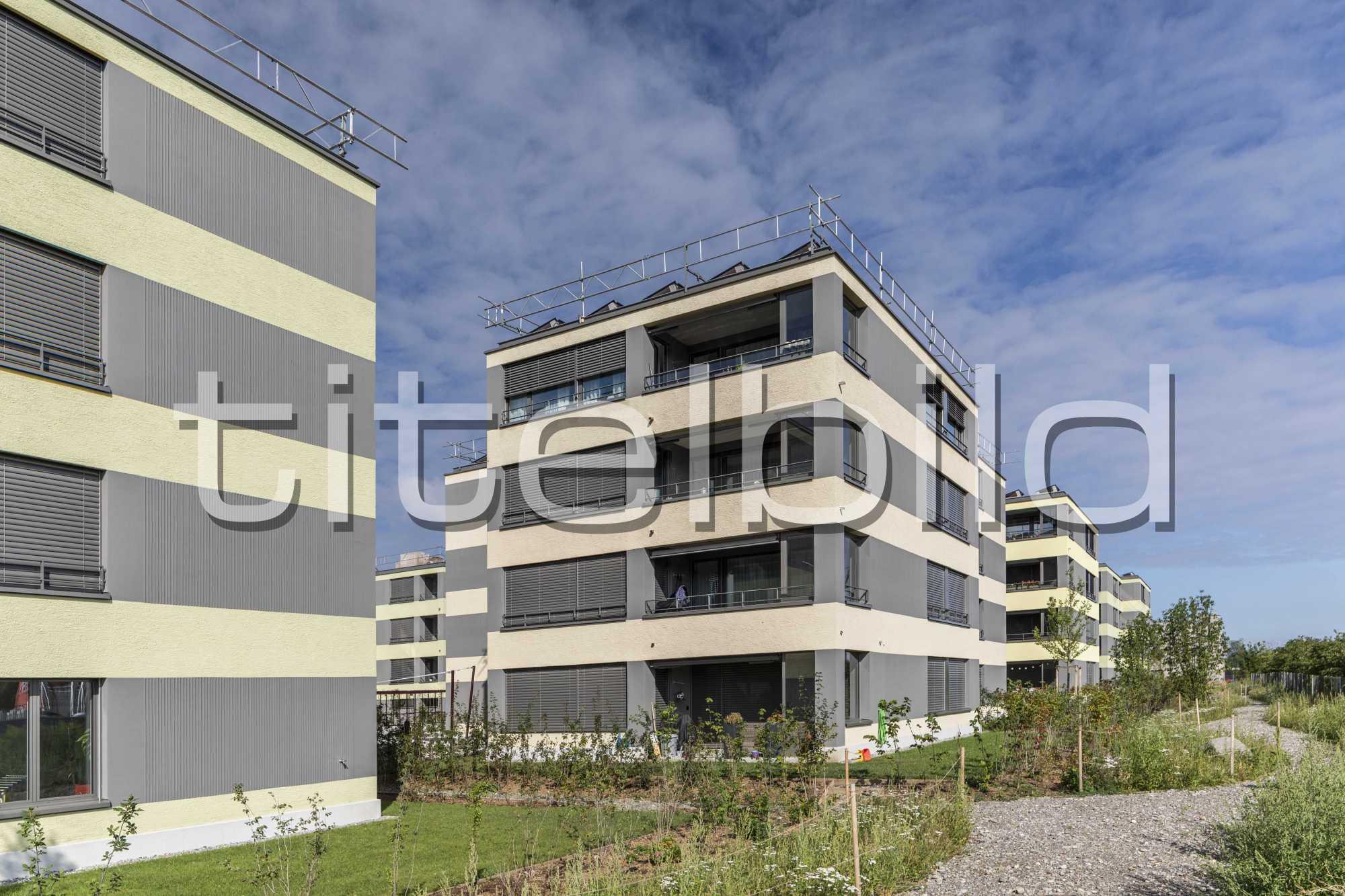 Projektbild-Nr. 5: Wohnsiedlung Pfaffenlebern , Rümlang