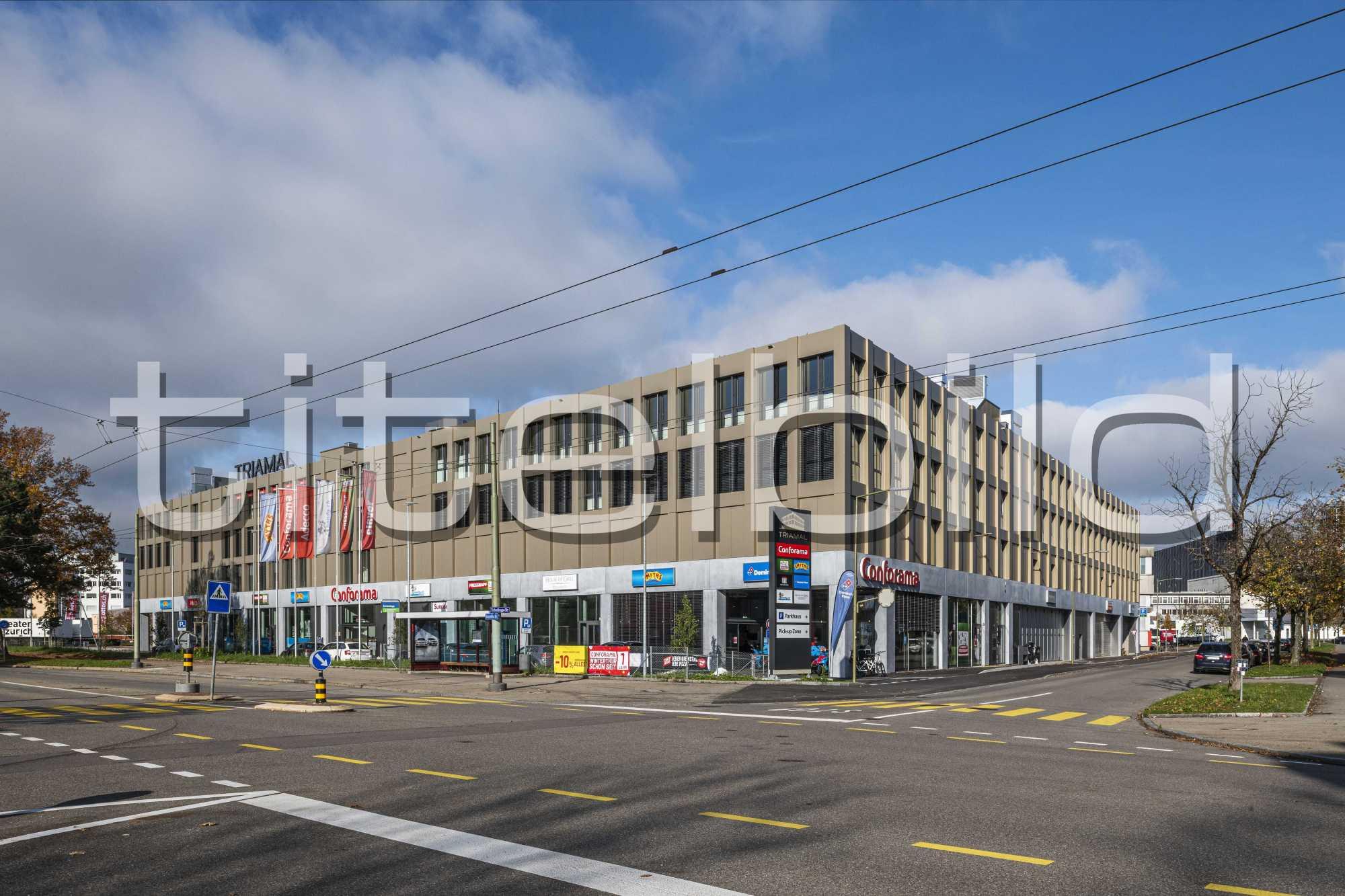Projektbild-Nr. 1: Neubau Büro-Gewerbehaus