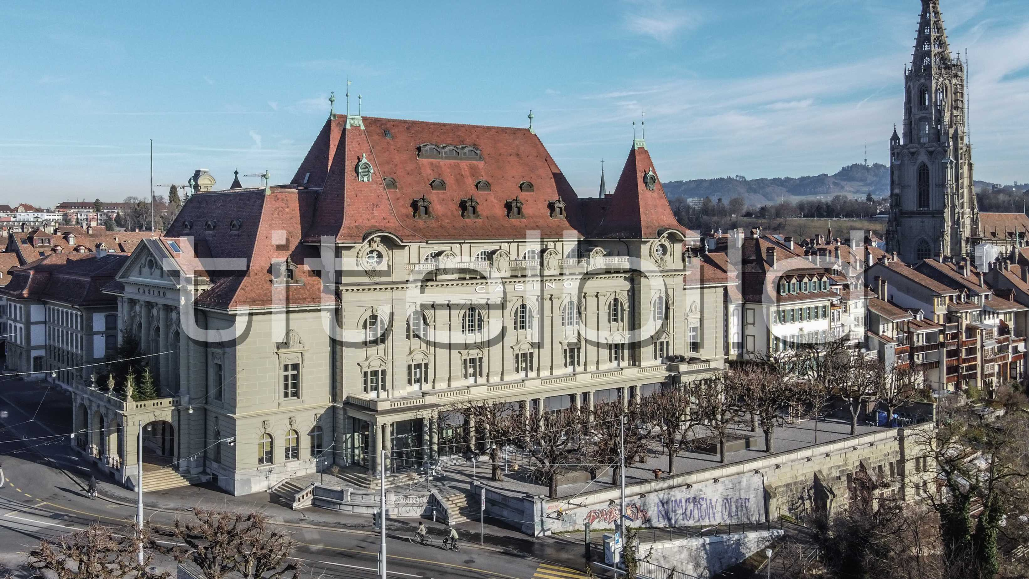 Projektbild-Nr. 1: Gesamtsanierung Casino Bern