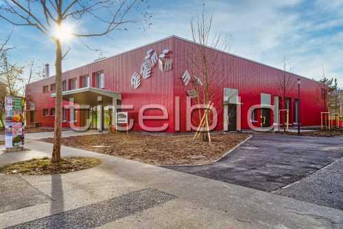 Bild-Nr: 1des Objektes Instandsetzung Gemeinschaftszentrum Hirzenbach mit Park