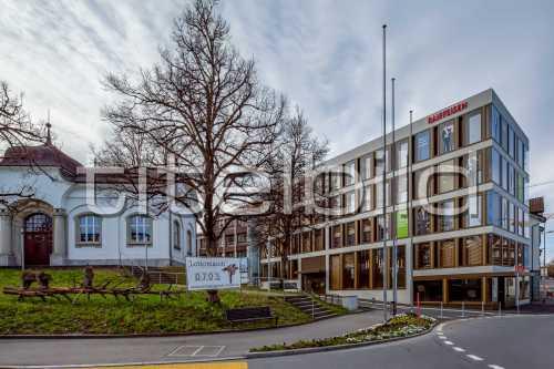 Bild-Nr: 3des Objektes Neubau am Chreisel Raiffeisenbank